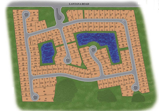 Country Cove Estates site plan